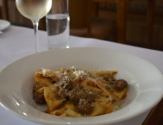 Pappardelle with Wild Boar Sausage Ragout Recipe