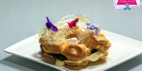 Ep5 Paris Brest with Rosewater and Berry Cream - low res with logo copy