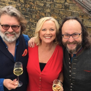 With Hairy Bikers on Saturday Kitchen