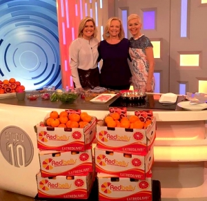 Visiting Sarah Harris & Jessica Rowe on Studio 10