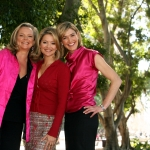 Breast Cancer Ambassador with Sandra Sully, Anna Coren