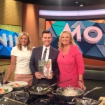 With Sonia Kruger and David Campbell on Channel 9 Mornings