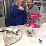 Fun filming Baking Secrets with Tobie Puttock