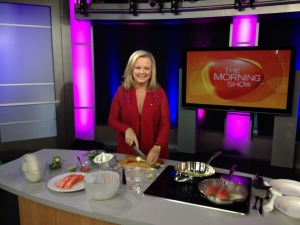 Cooking on The Morning Show