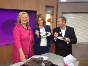 On the Morning Show with Larry Emur and Kylie Gillies
